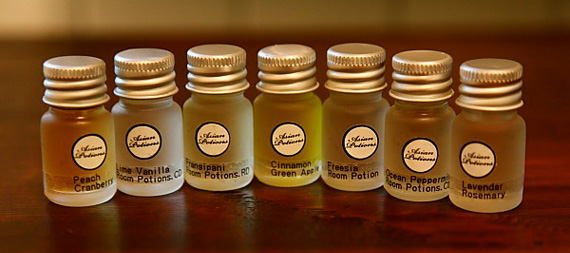 scented aromatheraphy potions Wellness